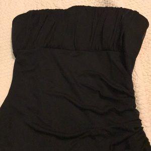 Black slinky dress